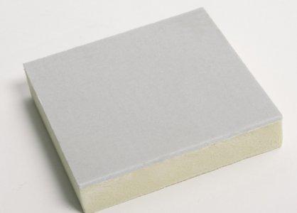 聚氨酯为芯材的复合板由上下层彩钢板加中间发泡